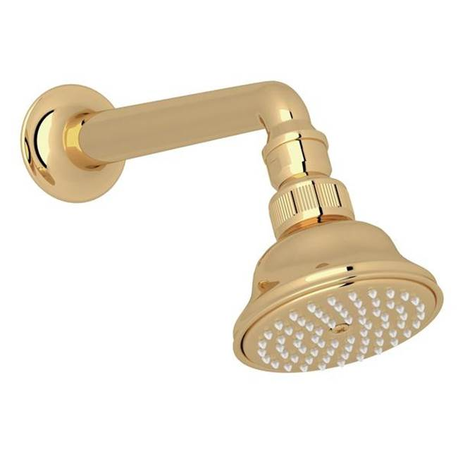 Rohl Rohl 3 1/16'' Diameter Single Function Perletto Italian Bath Style Swiveling Showerhead With Easy Clean Anti-Cal Spray Pattern And 7 1/8'' Shower…