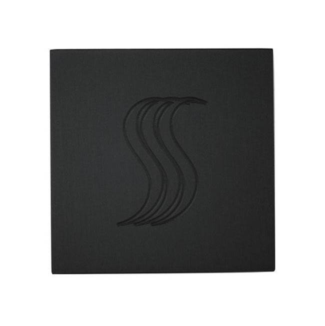 Thermasol SteamVection Steam Head Square Matte Black