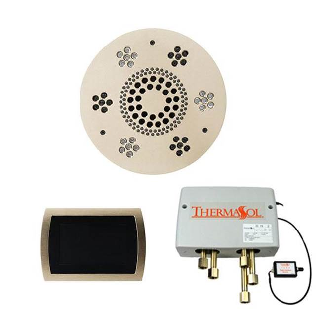 Thermasol The Wellness Shower Package with SignaTouch Trim Upgraded Round Polished Nickel