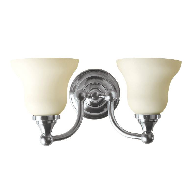 Valsan Kingston Polished Nickel Double Wall Light