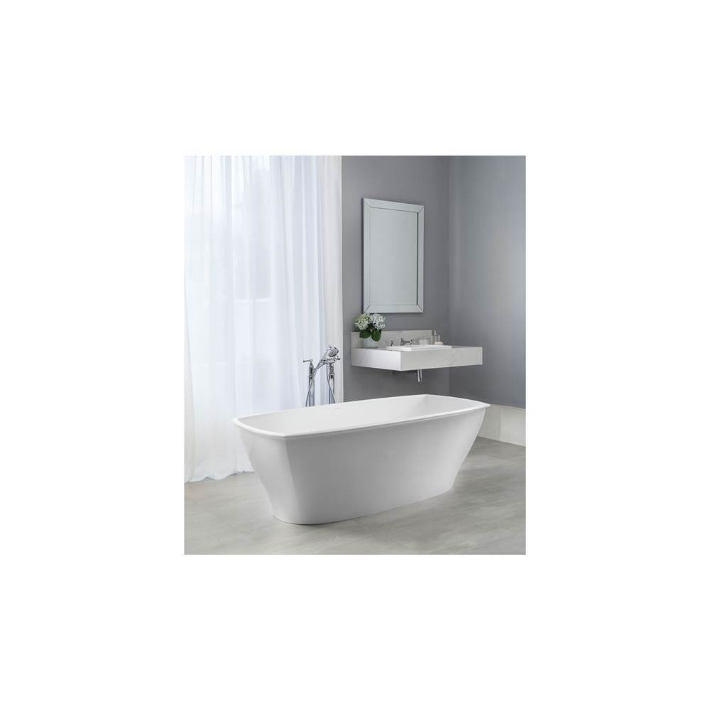 Victoria + Albert Victoria+Albert Pembroke 70'' Freestanding Bathtub In Standard White With No Overflow