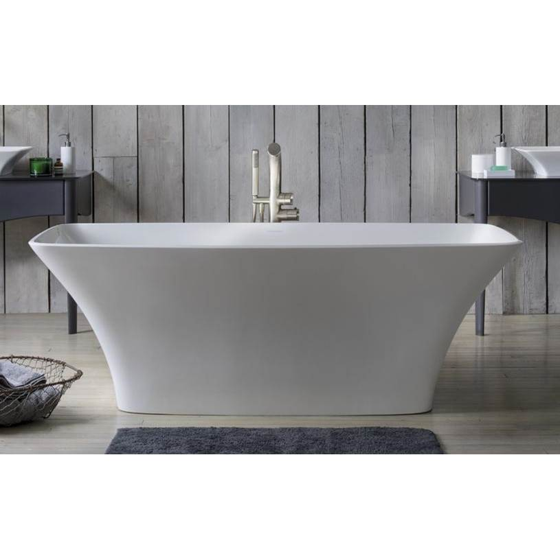 Victoria + Albert Victoria+Albert Ravello 69'' Freestanding Bathtub In Standard White With Overflow