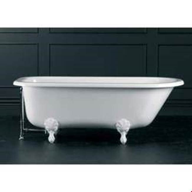 Victoria + Albert Victoria+Albert Hampshire 68'' Freestanding Bathtub In Standard White With Overflow