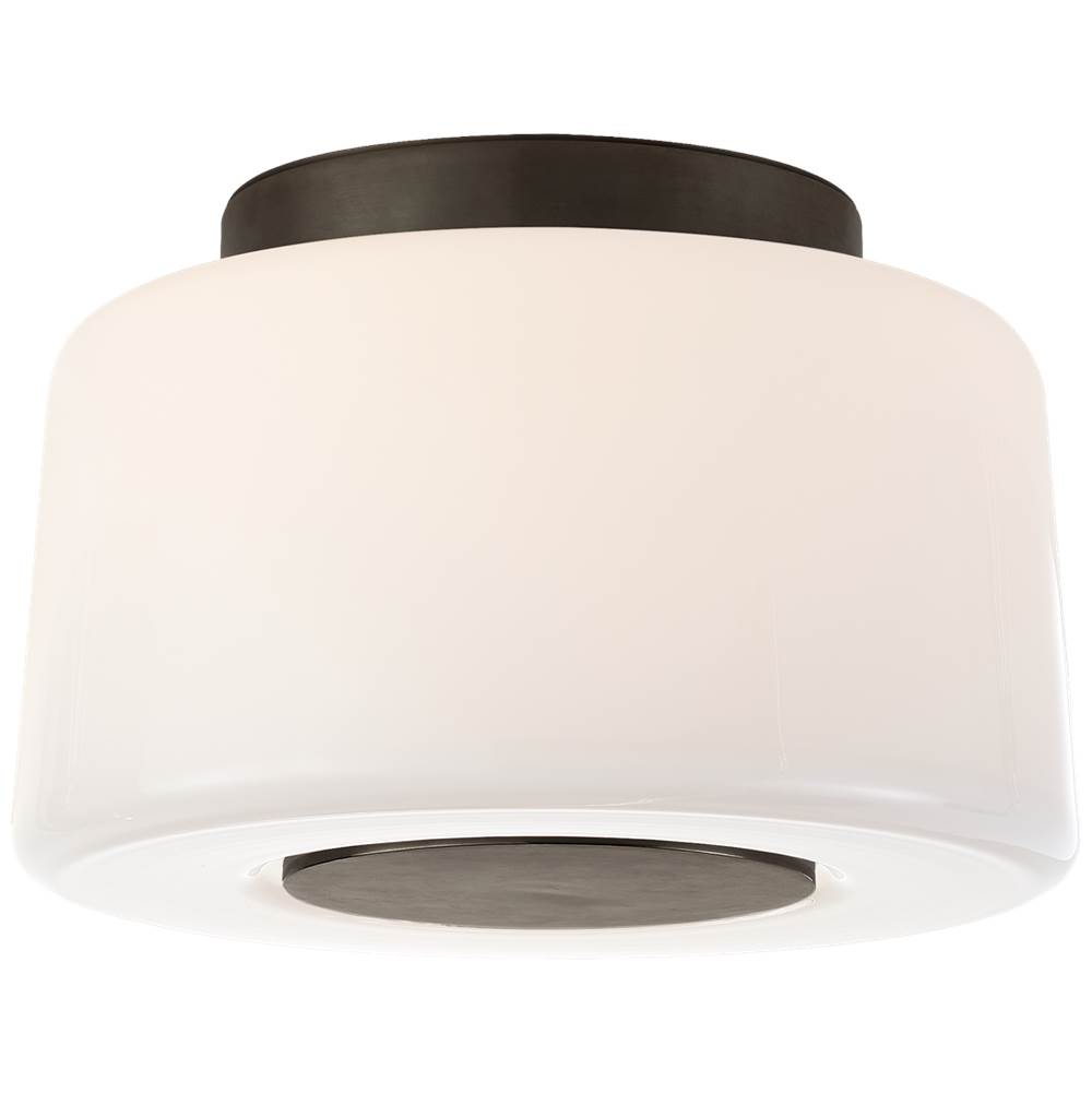 Visual Comfort Acme Small Flush Mount in Bronze