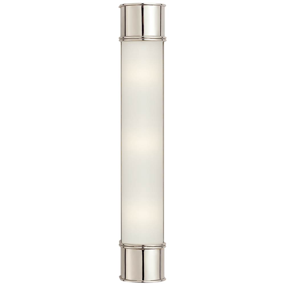 Visual Comfort Oxford 24'' Bath Sconce in Polished Nickel