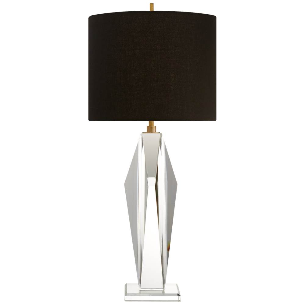 Visual Comfort Castle Peak Table Lamp in Crystal