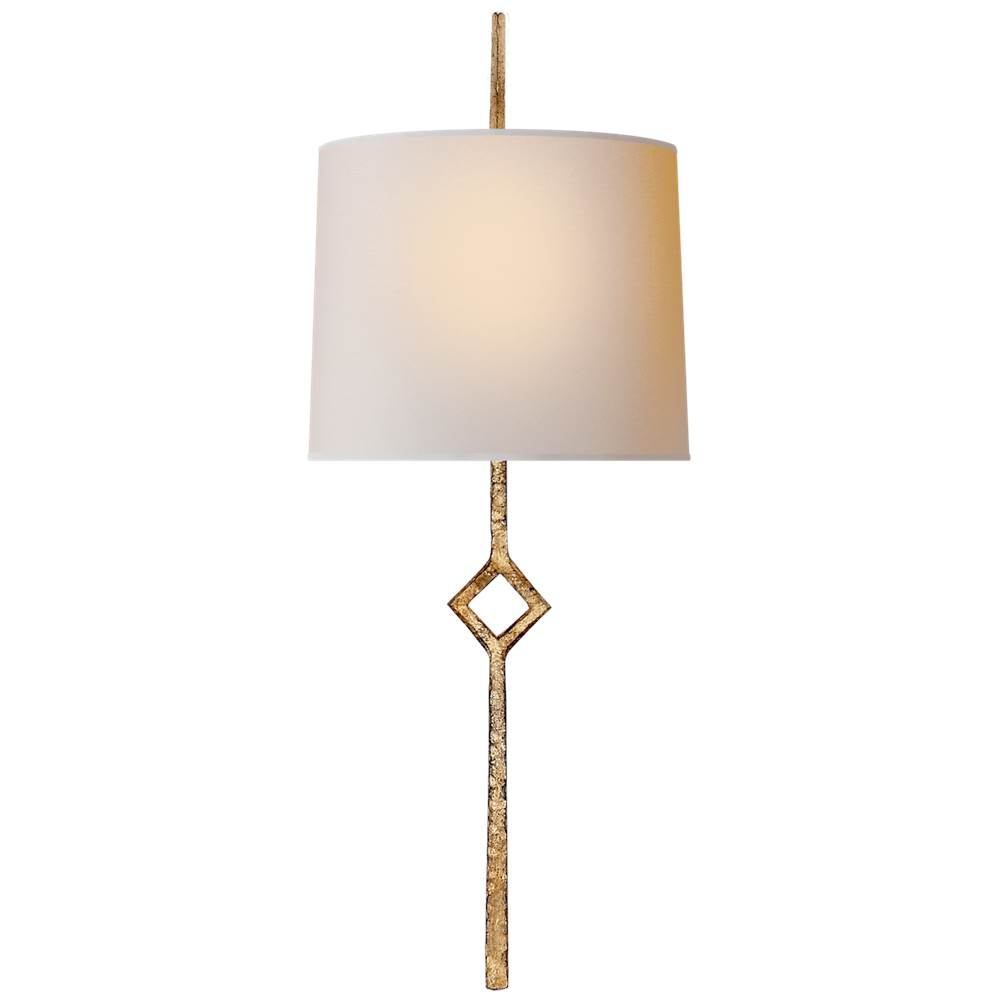 Visual Comfort Cranston Small Sconce in Gilded Iron