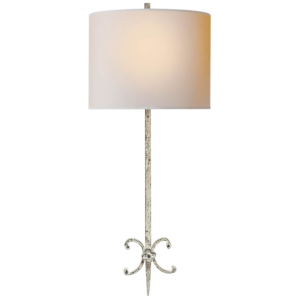 Visual Comfort Roswell Sconce in Belgian White