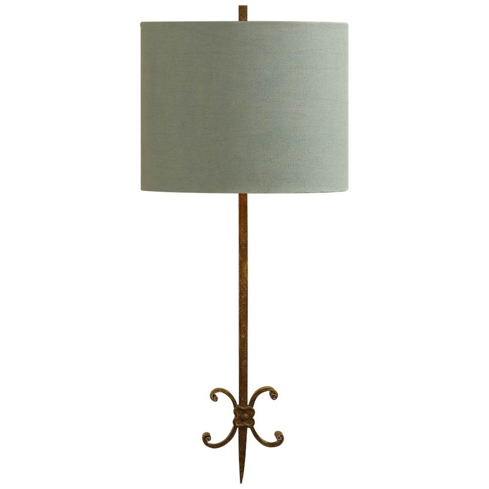 Visual Comfort Roswell Sconce in Natural Rusted Iron