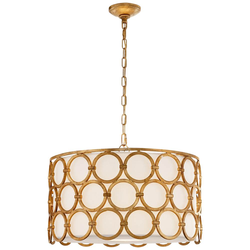 Visual Comfort Alexandra Medium Hanging Shade in Gilded Iron