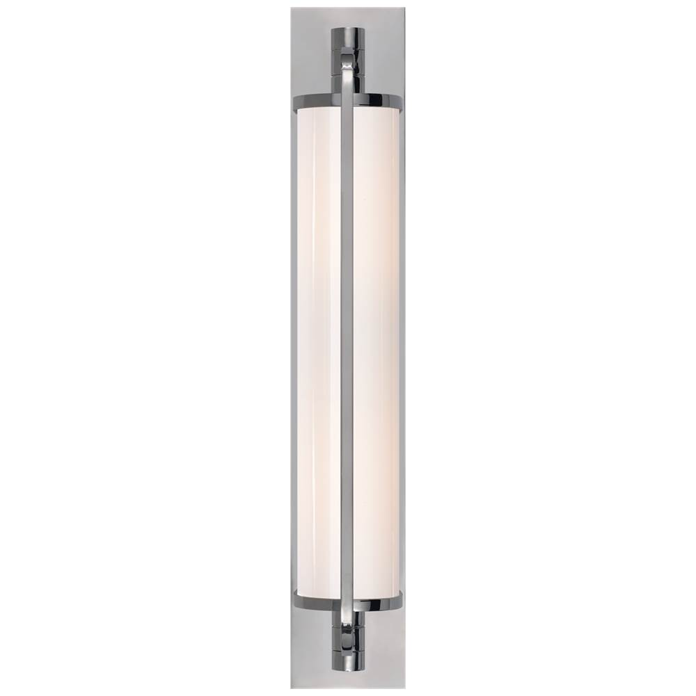Visual Comfort Keeley Tall Pivoting Sconce in Chrome
