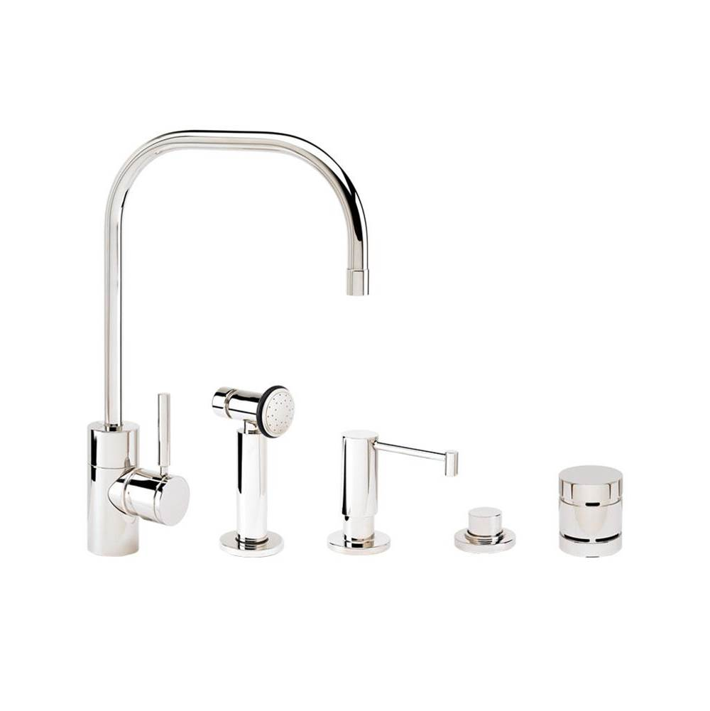 Waterstone Fulton Kitchen Faucet - 4Pc. Suite