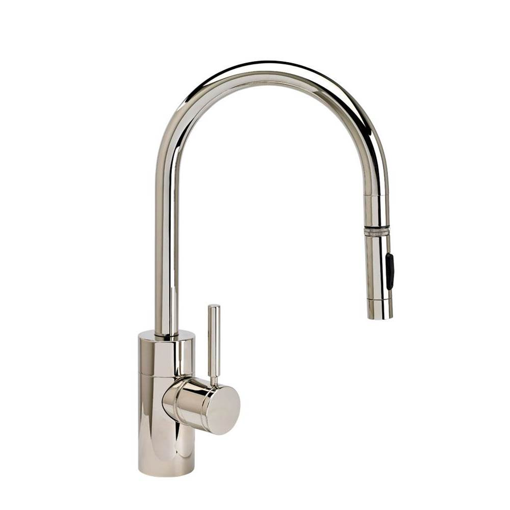 Waterstone Contemporary Plp Pulldown Faucet - Angled Spout - Toggle Sprayer