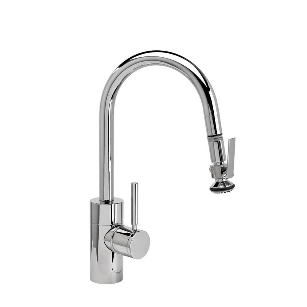 Waterstone Contemporary Prep Size Plp Pulldown Faucet - Angled Spout - Toggle Sprayer