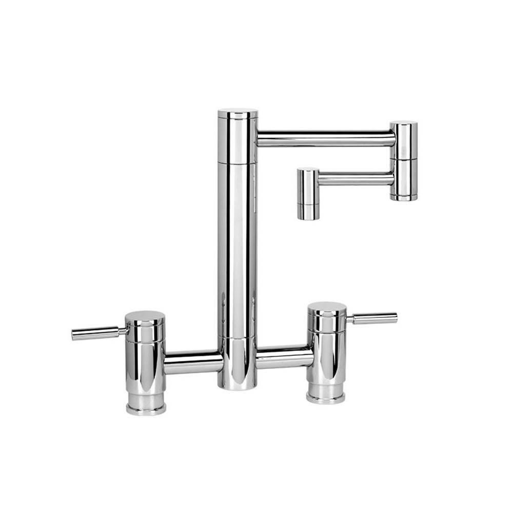 Waterstone Hunley Bridge Faucet - 18'' Articulated Spout