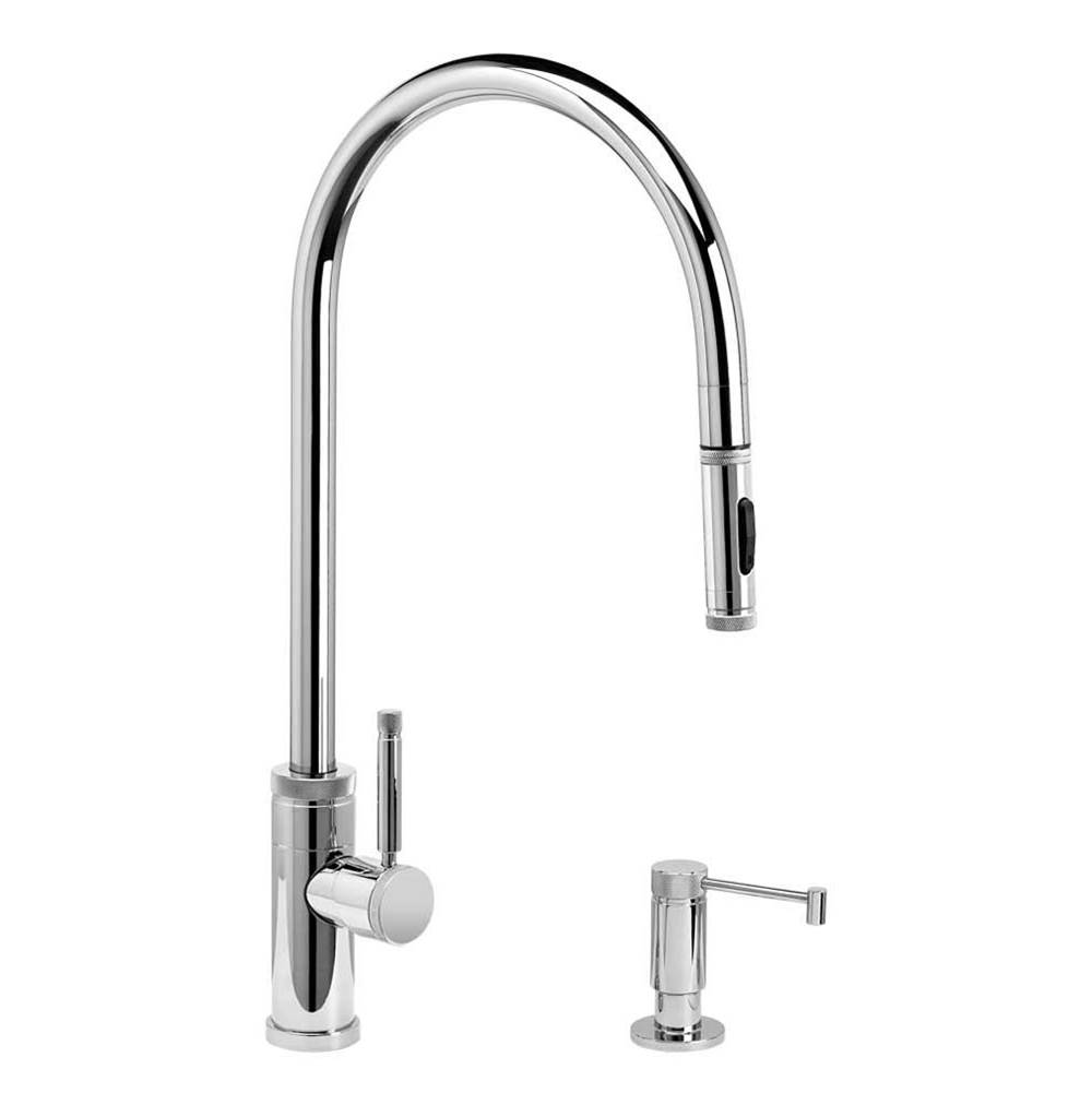 Waterstone Industrial Extended Reach Plp Pulldown Faucet - Toggle Sprayer - 2Pc. Suite