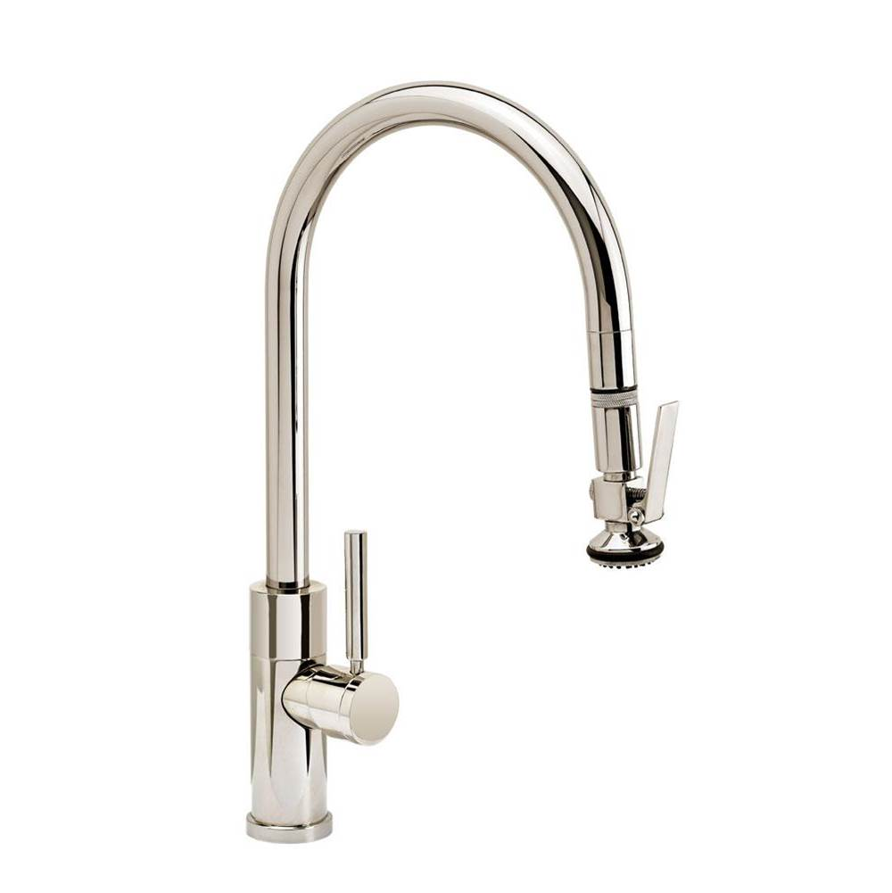 Waterstone Modern Plp Pulldown Faucet - Angled Spout - Lever Sprayer