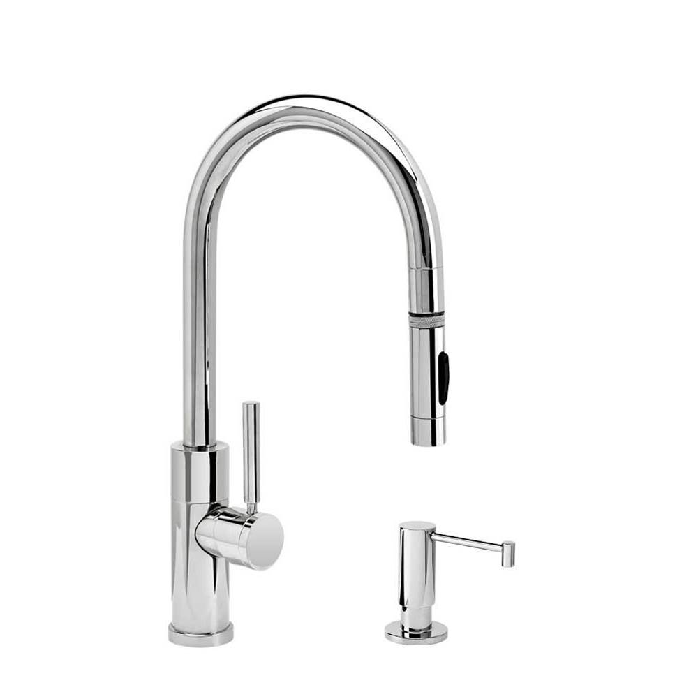 Waterstone Modern Prep Size Plp Pulldown Faucet - Toggle Sprayer - 2Pc. Suite
