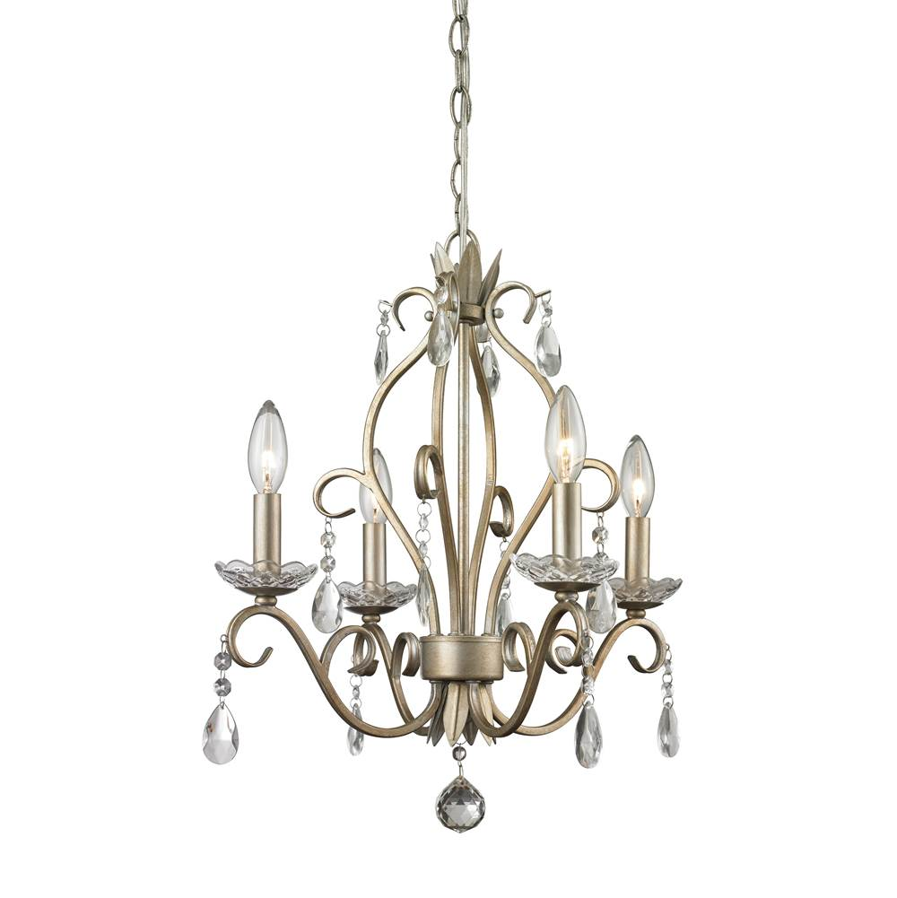 Z-Lite 4 Light Mini Chandelier